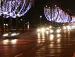 Autofahrt in der Dunkelheit