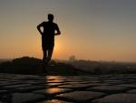 Joggen am Morgen
