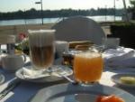 Frühstück in Mainz
