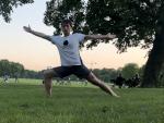 Yoga Krieger II