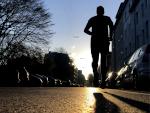 Laufen in der Morgensonne