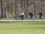 Laufen und Radfahren